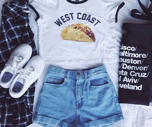 outfit, style, and west coast image