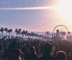 coachella, festival, and summer image