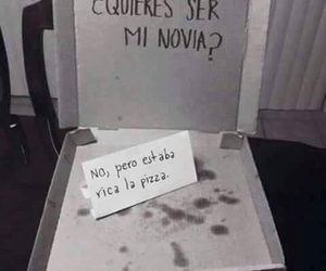 lol, no, and pizza image