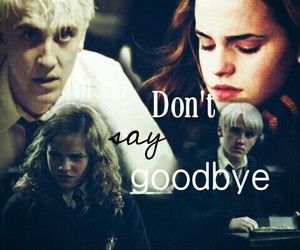 dramione, harry potter, and otp image
