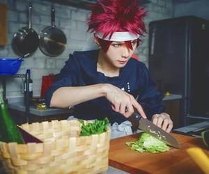 anime, chef, and cosplay image