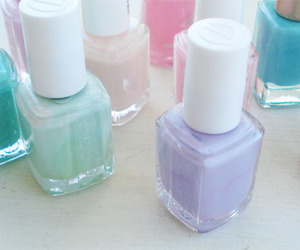 nail polish, pastel, and essie image