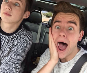 troye sivan, connor franta, and tronnor image