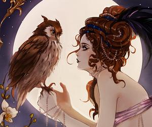 disney, princess, and moon image