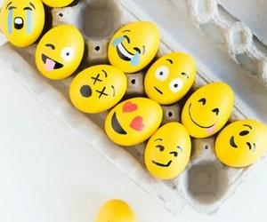 eggs, emoji, and easter image