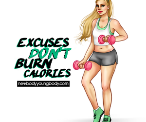 calories, fitness, and motivation image
