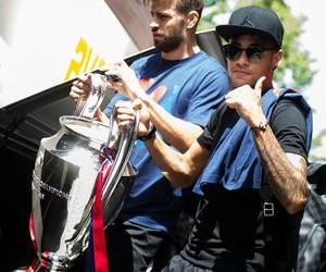 neymar, Barca, and champions league image