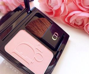 rose, dior, and make up image