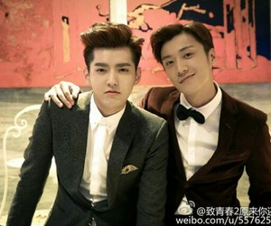 kris, exo, and yifan image