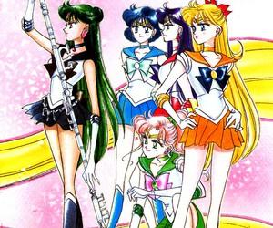 manga, sailor moon, and naoko takeuchi image