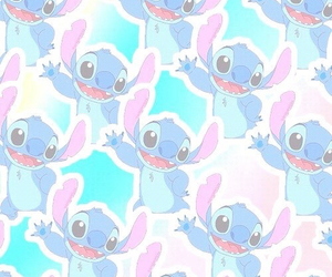 background, stitch, and cute image