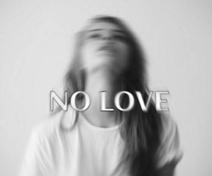 no love and love image