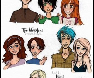 harry potter, malfoy, and teddy lupin image