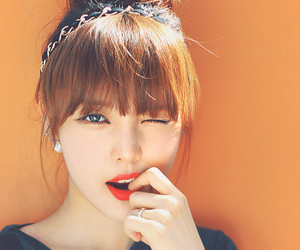 ulzzang, korean, and pony image