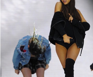 ariana grande and black image
