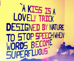 kiss, quote, and vintage image