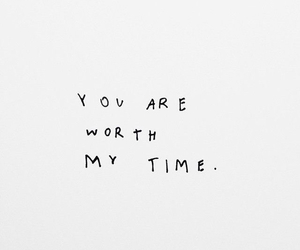 quotes, time, and worth image
