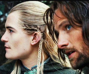 aragorn, jrr tolkien, and LOTR image