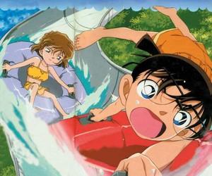 detective conan, anime, and conan edogawa image