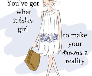 Dream, beauty, and fashion image