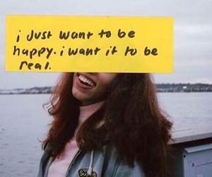 quote, happy, and aesthetic image