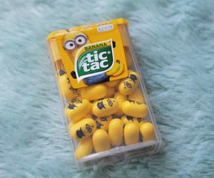 adorable, banana, and candy image