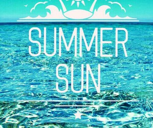 summer, beautiful, and blue image