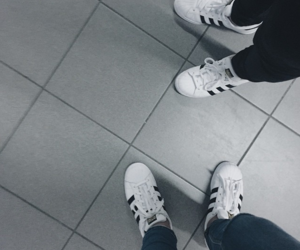 adidas, foots, and superstar image