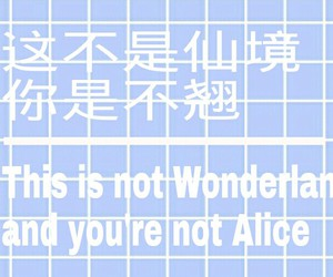 alice, alternative, and chinese image