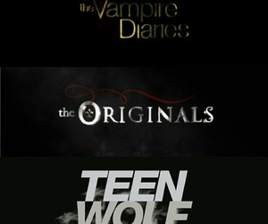 The Originals, werewolf, and teen wolf image