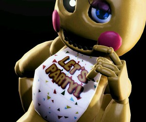 five nights at freddys, fnaf, and toy chica image