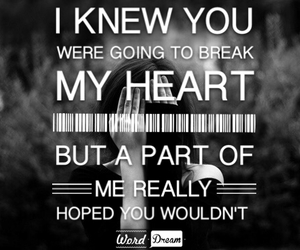 bw, heartbreak, and life image