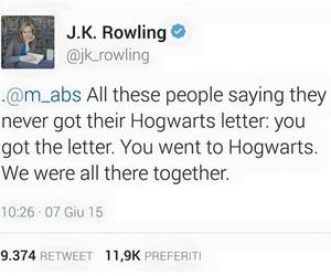 harry potter, hogwarts, and j.k. rowling image