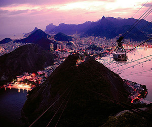 city, brazil, and lights image