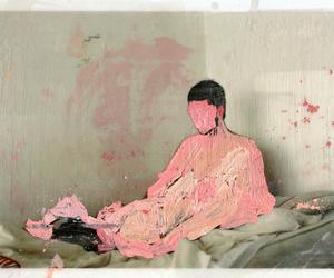 art, love, and bizarre image