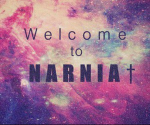 narnia, welcome, and galaxy image
