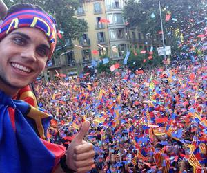 champions, Barcelona, and marc bartra image