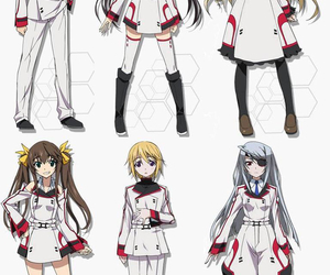 infinite stratos, charlotte dunois, and cecilia alcott image