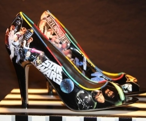 star wars, heels, and shoes image