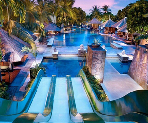 pool, travel, and vacation image