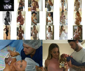couple, pregnancy, and tammy hembrow image