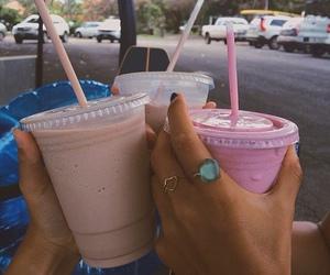 drinks, food, and tumblr image