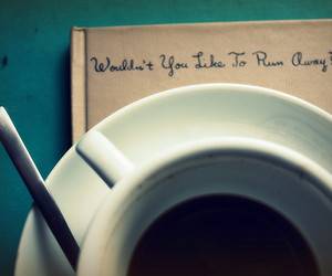coffee, quote, and cup image