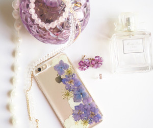 accessory, floral, and flowers image