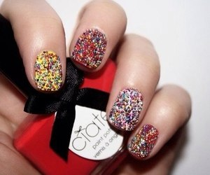 nails, red, and colors image