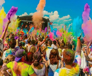 colorful, concert, and couleur image