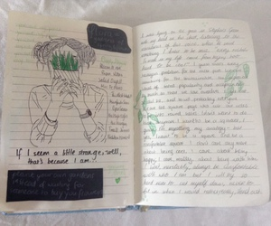 diary, grunge, and tumblr image