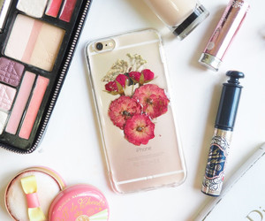 iphone, dior, and floral image