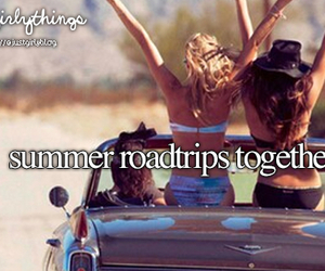 summer, road trips, and just girly things image
