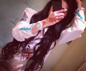 henna, fashion, and girl image